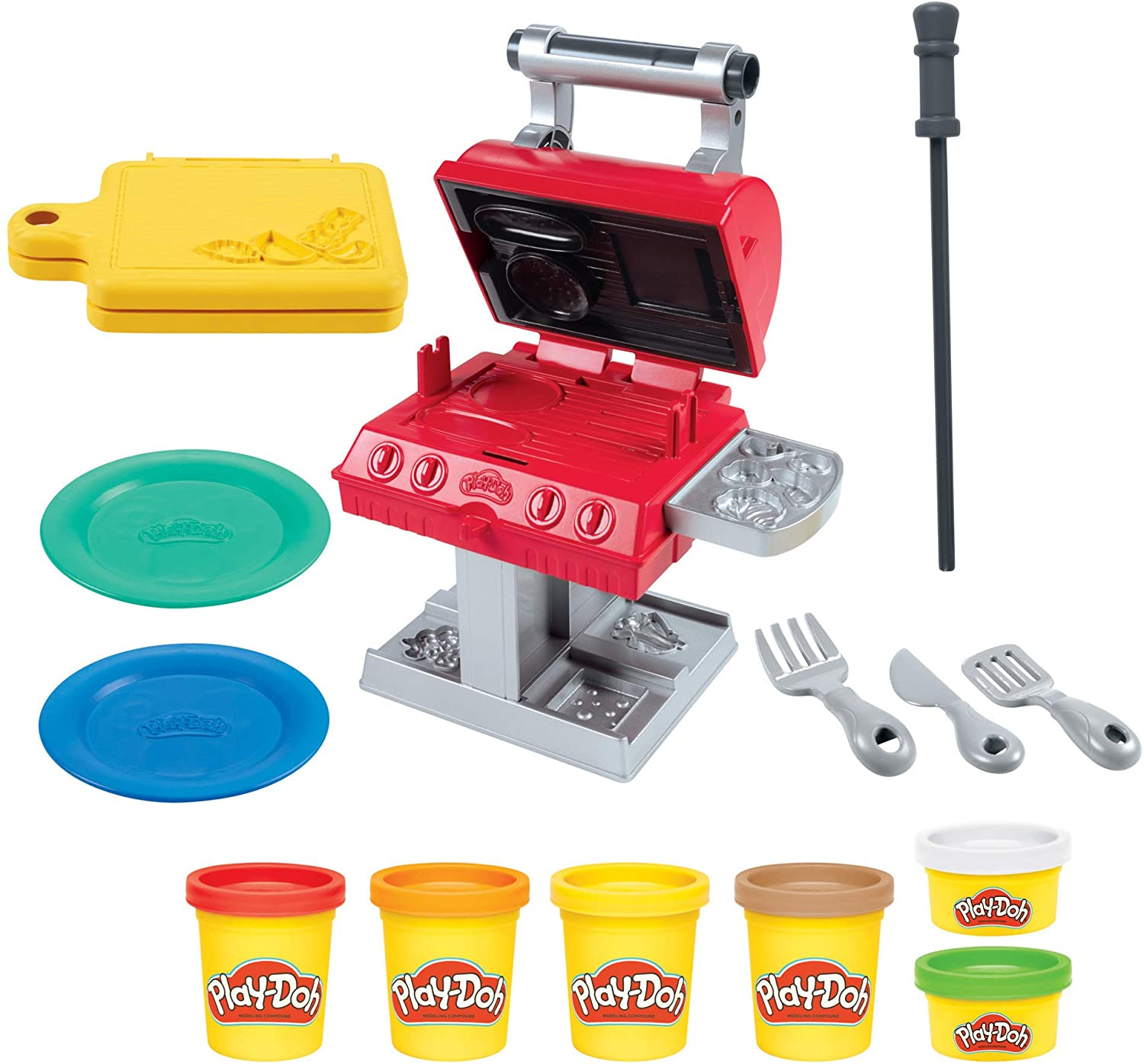 Play-Doh - Grill 'n Stamp Playset (F0652)