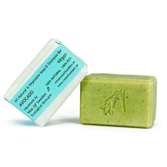 Nea of Sweden All Natural & Vegetable Soap & Shampoo Bar