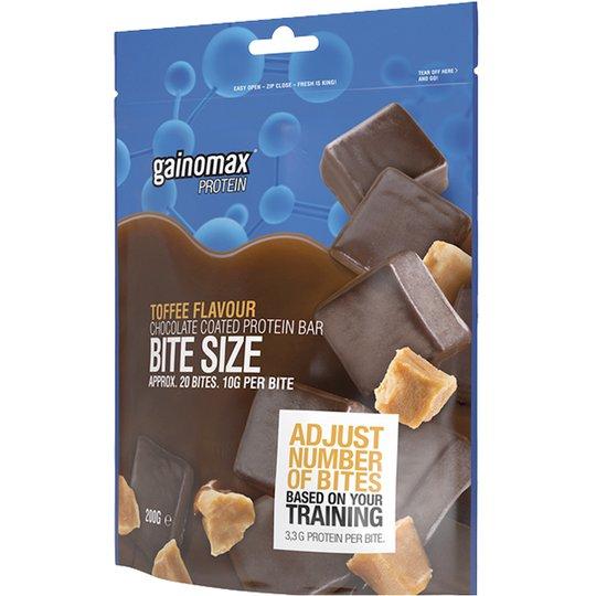 "Proteinbar ""Bite Size"" Kolakaramell 200g - 91% rabatt"