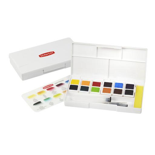 Derwent - Inktense Paint 12 Travel Pan Palette (603053)