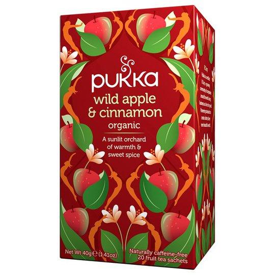 Pukka Herbs Örtte Wild Apple & Cinnamon, 20 påsar