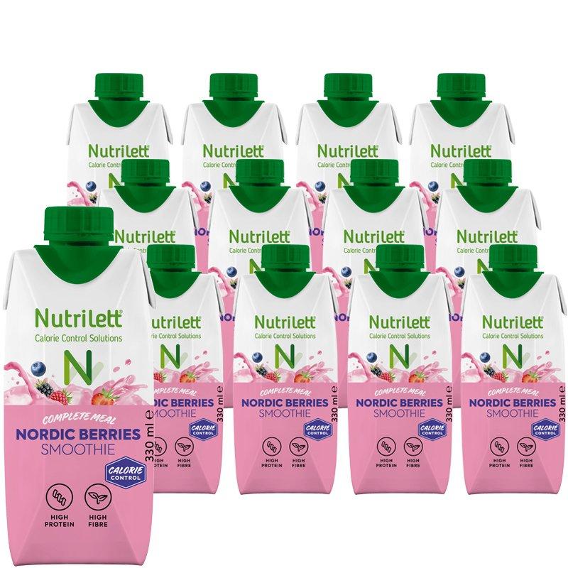Måltidsersättning Nordic Berries 12-pack - 20% rabatt