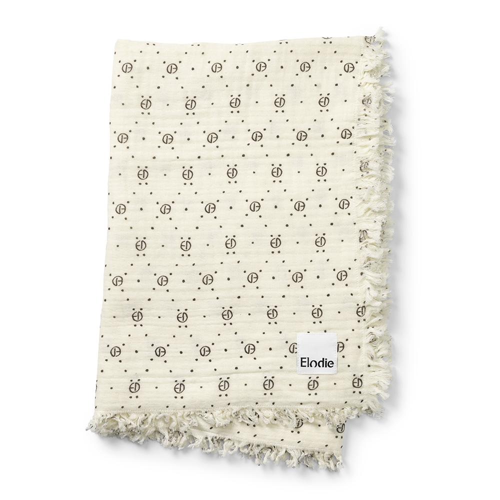 Elodie Details - Soft Cotton Blanket - Monogram