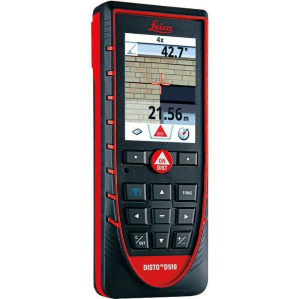 Leica Disto D510 Etäisyysmittari sis. Bluetooth