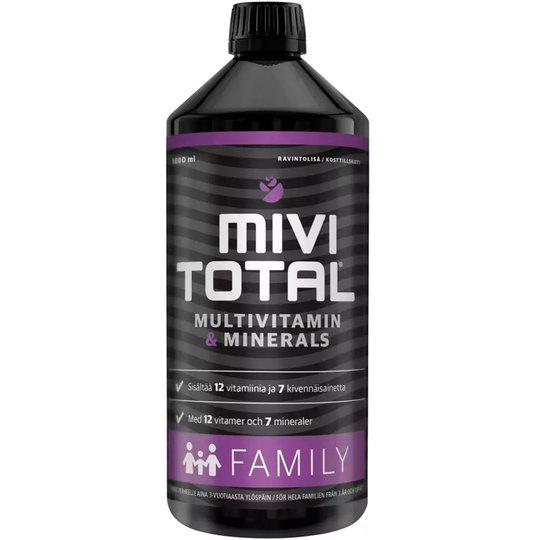 """Ravintolisä """"MiviTotal Family"""" 1l - 70% alennus"""