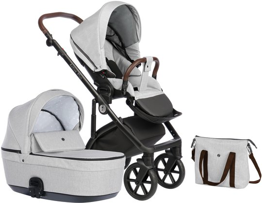 Nordbaby Nord Active Plus Duovogn, Pearl Slate