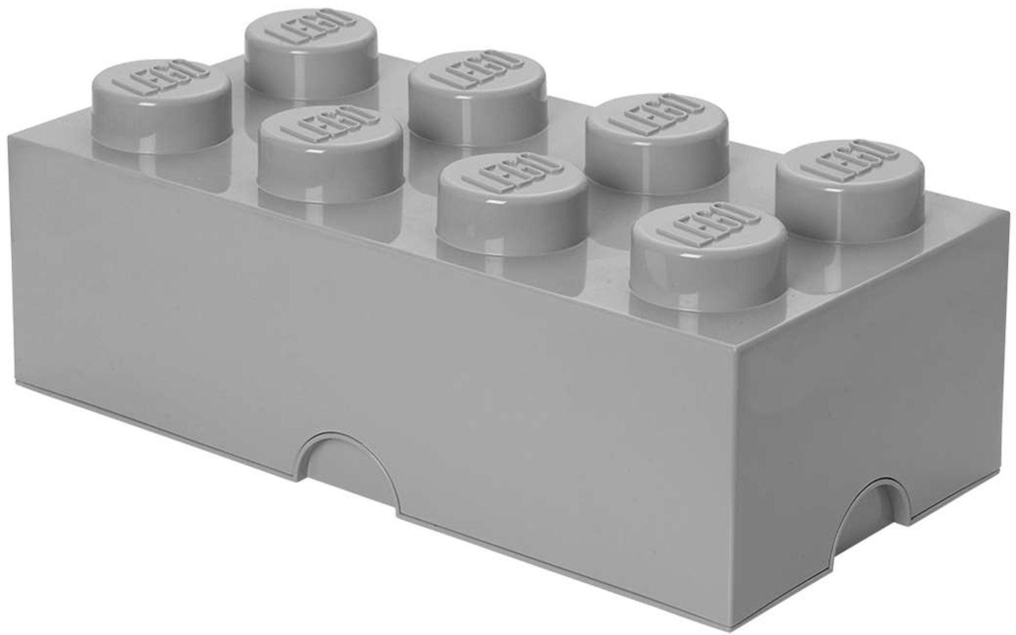 LEGO Säilytyslaatikko 8 Design Collection, Harmaa