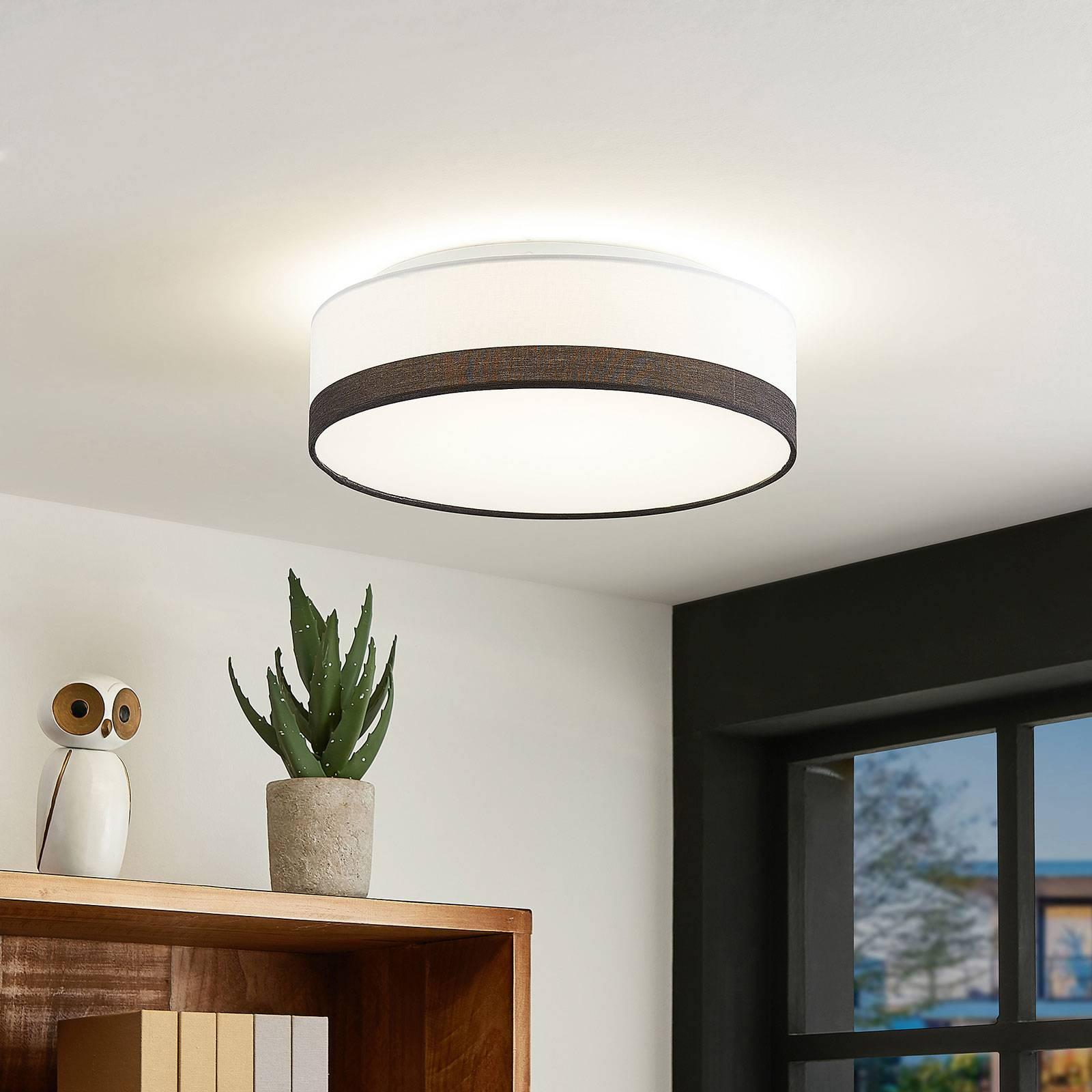 Lindby Laia -LED-kattovalaisin, Ø 38 cm