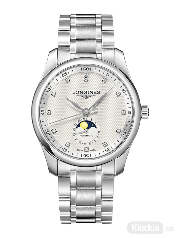 LONGINES Master Collection Moon Phase Diamonds 40mm L2.909.4.77.6