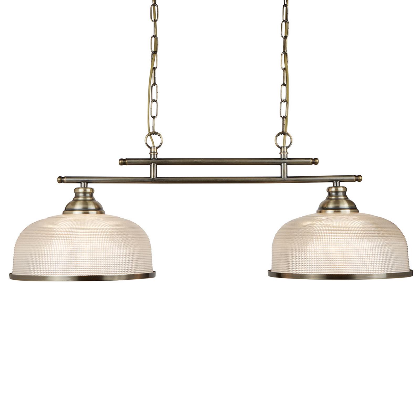 2-lamppuinen Bistro II -riippuvalaisin, Holophane