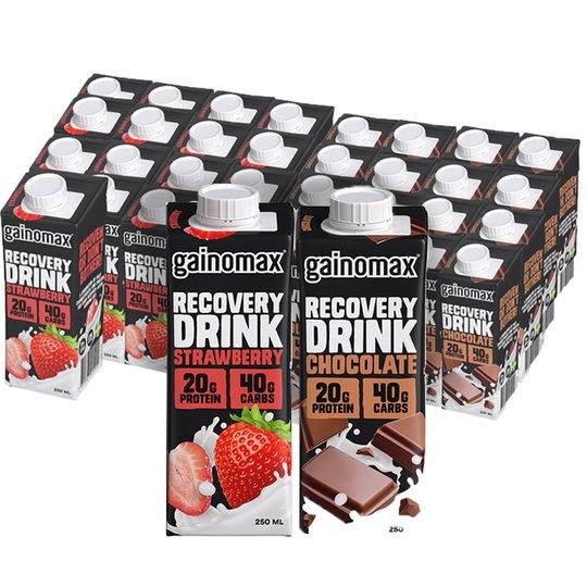 Proteindryck Choklad & Jordgubb 32-pack - 24% rabatt