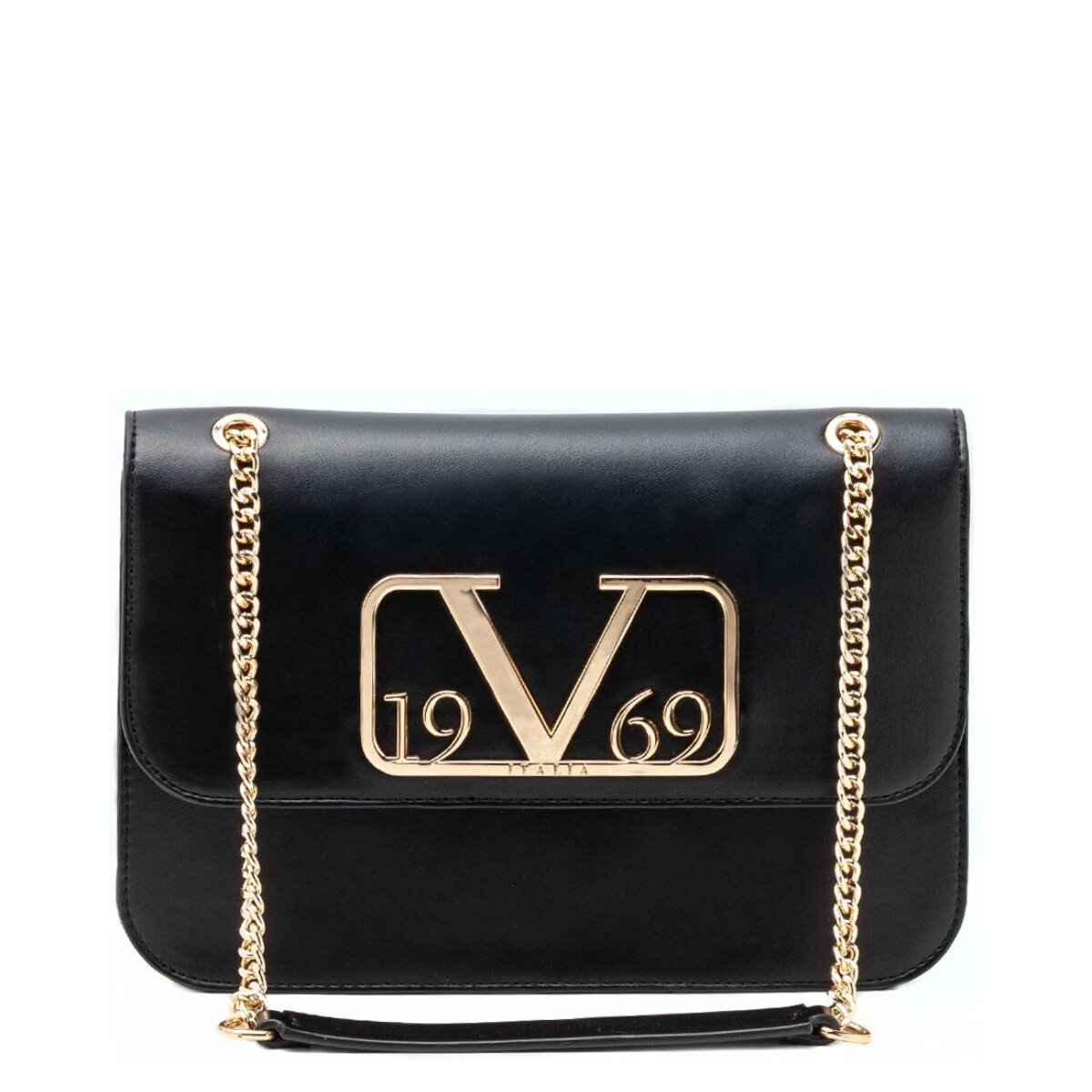 19v69 Italia Women's Handbag Various Colours 318965 - black UNICA