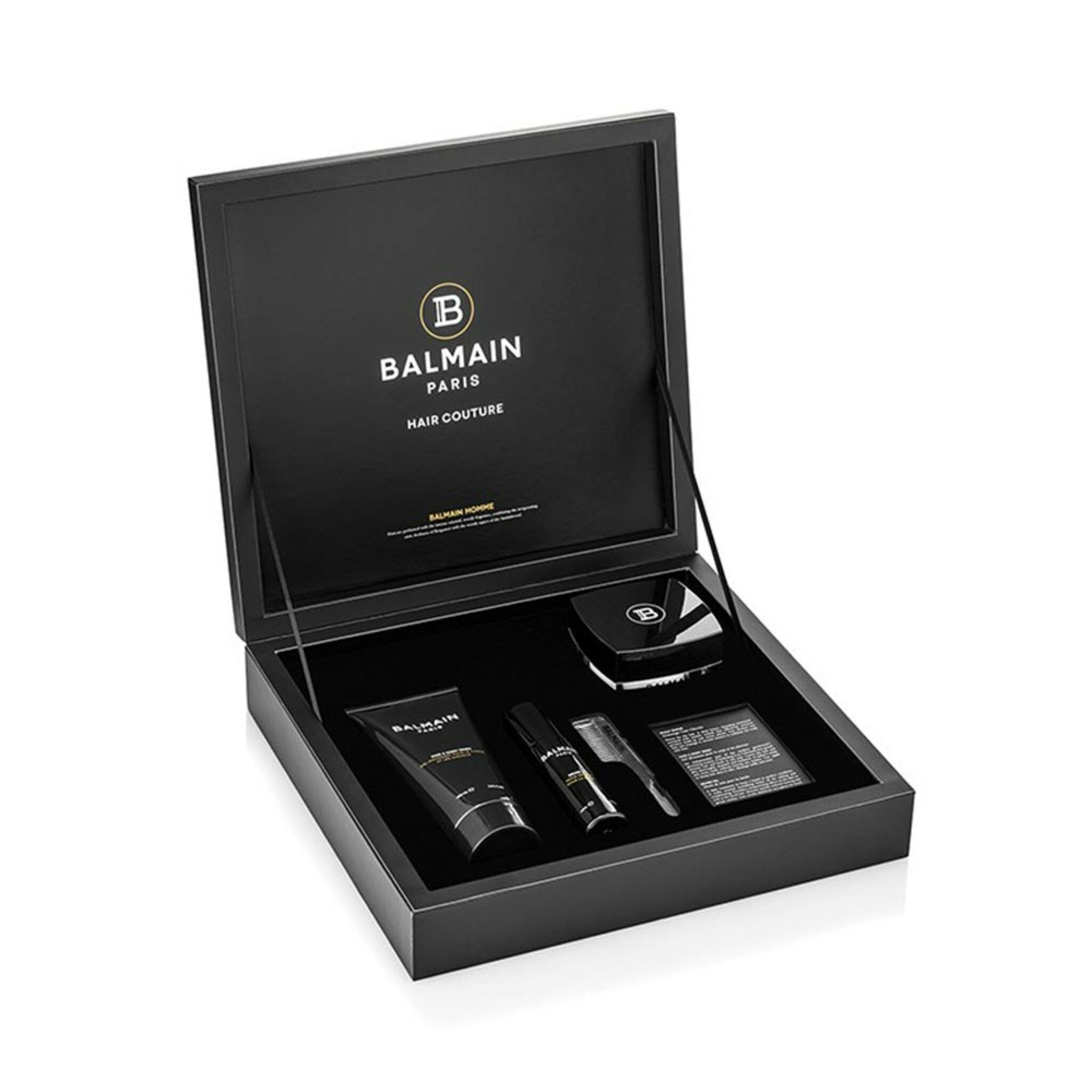 Balmain Signature Men't Giftset (Beard Oil, Hair & Body Wash, Scalp