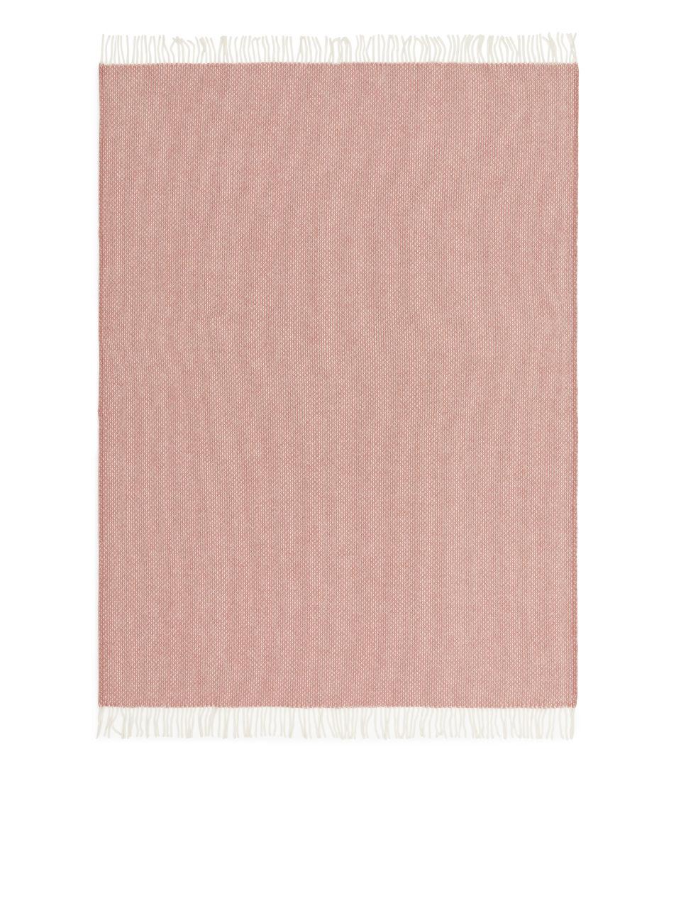 Klippan Freckles Wool Blanket - Pink