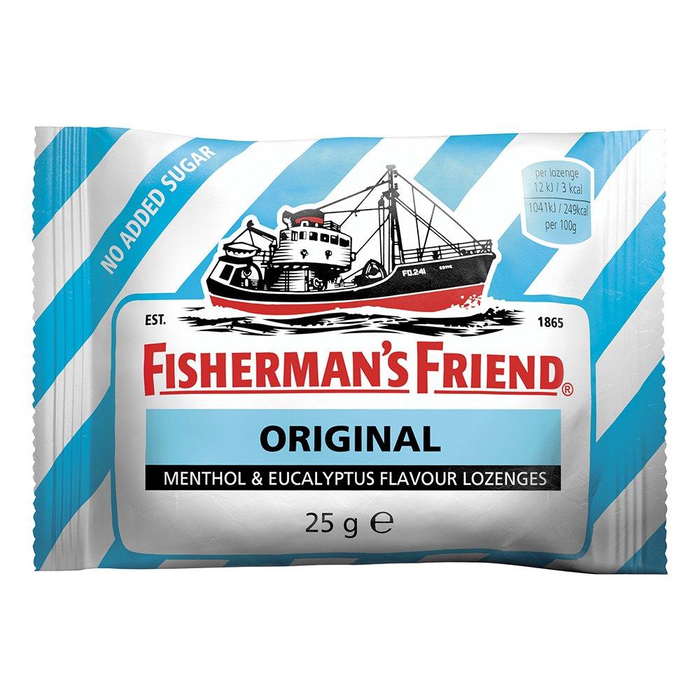 Fishermans Friend Sockerfri Original