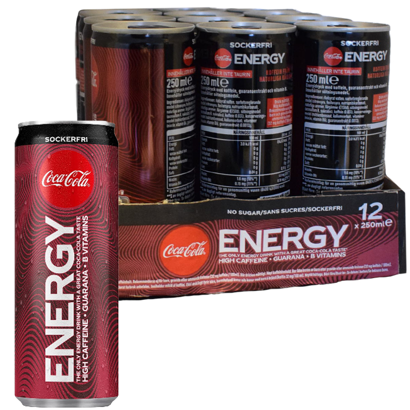 Coca-Cola Energy Zero 12-pack - 35% rabatt