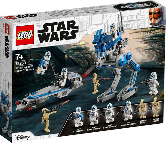 LEGO Star Wars 75280 Klonesoldater fra 501. Legion