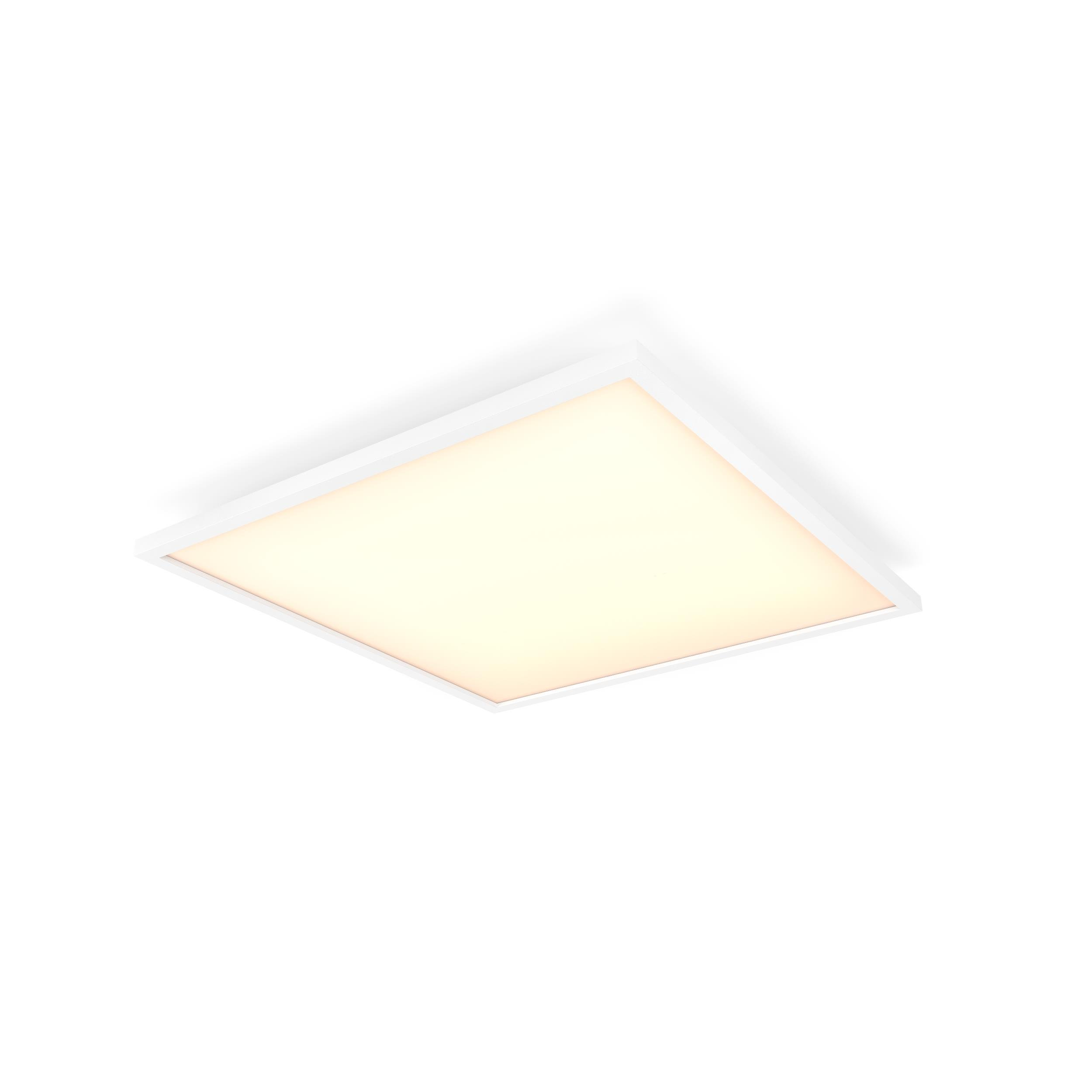 Philips Hue - Aurelle Square Ceiling Lamp - White Ambiance Bluetooth Dimmer Included