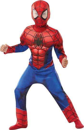 Marvel Spider-Man Kostyme Deluxe 3-4 år
