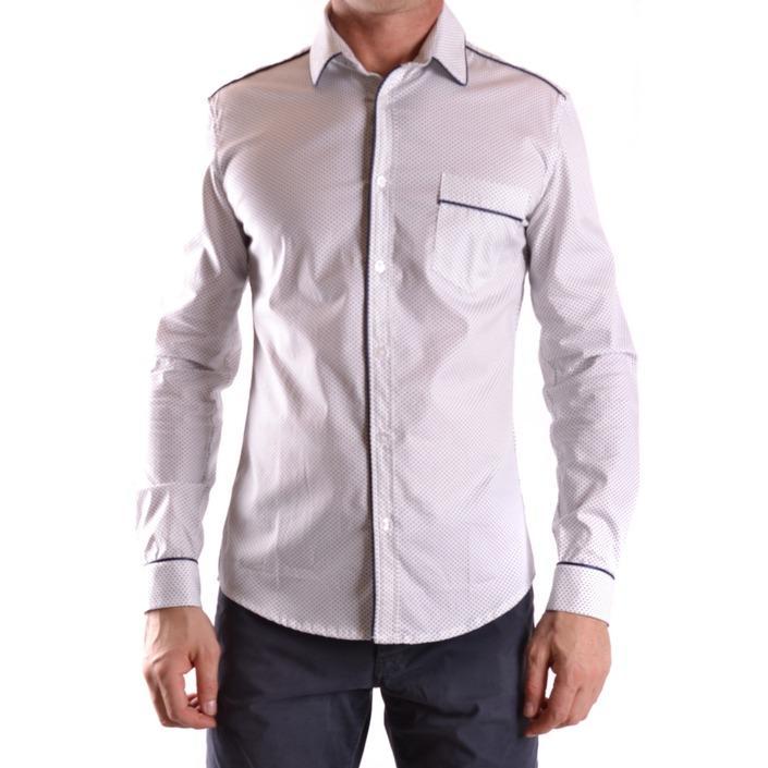 Daniele Alessandrini Men's Shirt White 186671 - white M