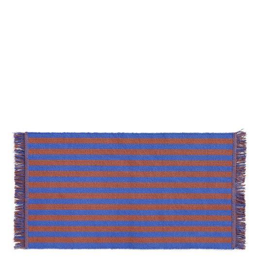 Hay - Stripes & Stripes Matta 95x52 cm Cacao sky