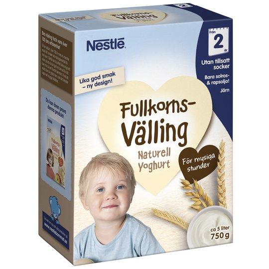 Barnmat Fullkornsvälling Naturell Yoghurt - 51% rabatt
