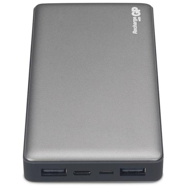 GP Batteries Voyage 2.0 MP15MA Powerbank 15 000 mAh, grafittgrå