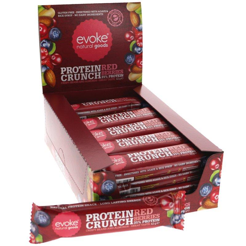 Proteiinipatukka Red Berries 24kpl - 40% alennus