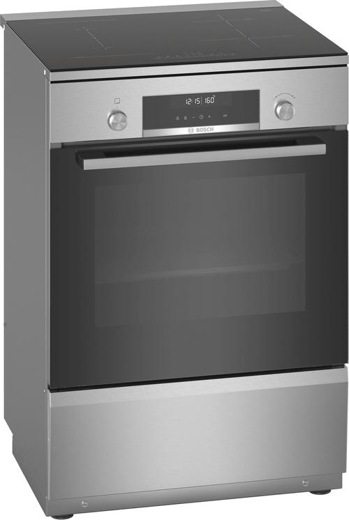 Bosch Hls79w350u Serie 6 Induktionsspis - Rostfritt Stål