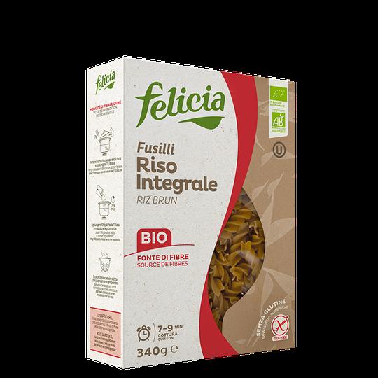 Felicia Brown Rice Fusilli, 340 g