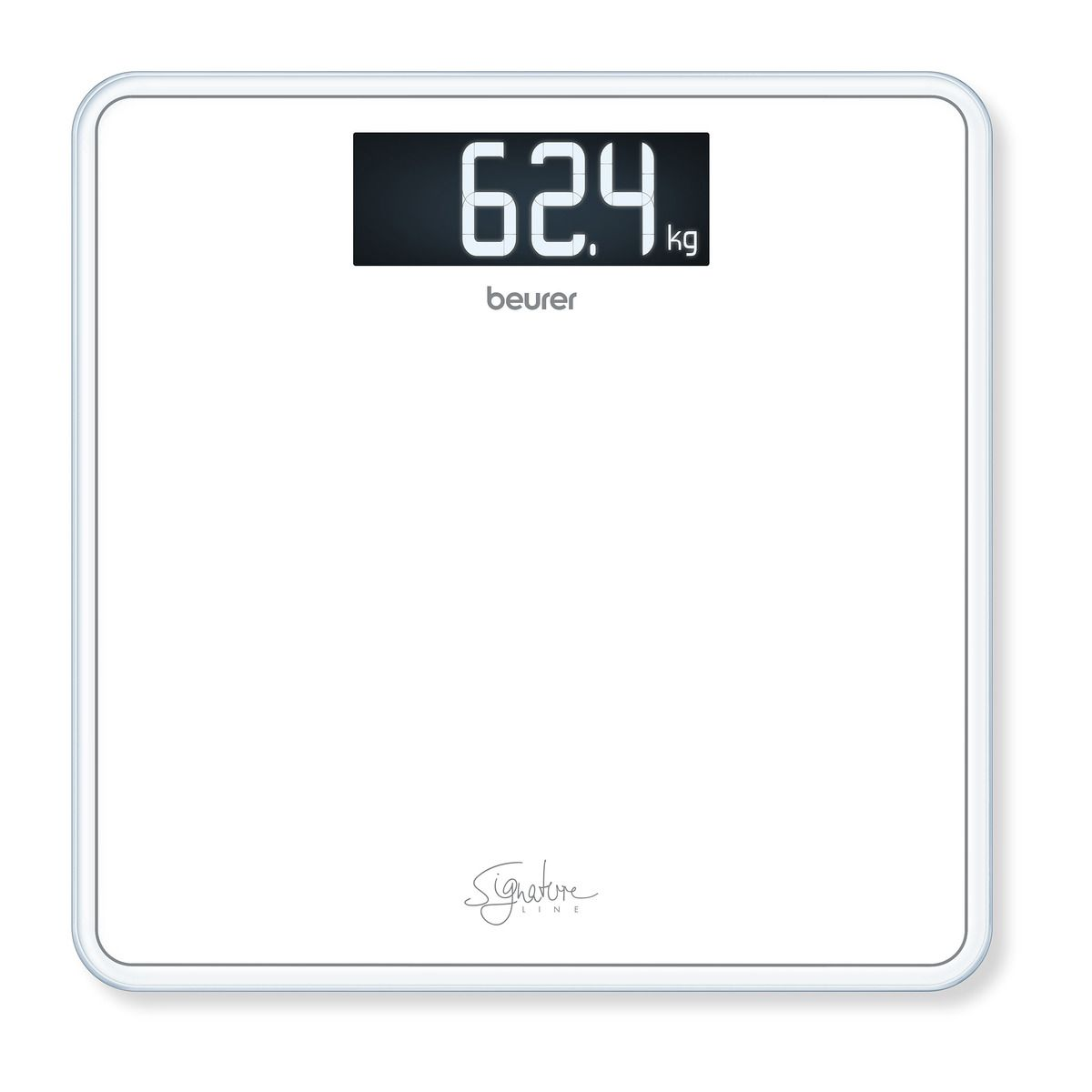 Beurer - GS 400 Bathroom Scale Glass ( White ) - 5 Year warranty