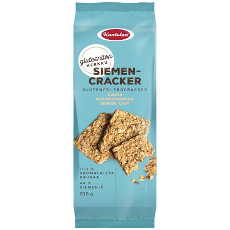 Gluteeniton Siemencracker - 50% alennus