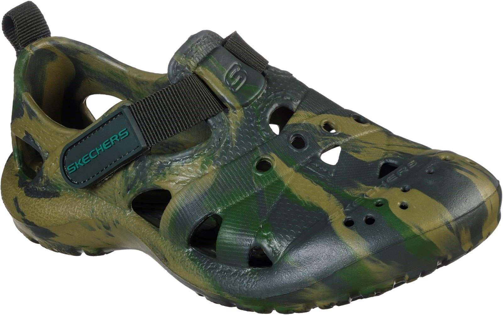 Skechers Unisex Foamies Koolers Sandal Camo 30785 - Camo 9.5