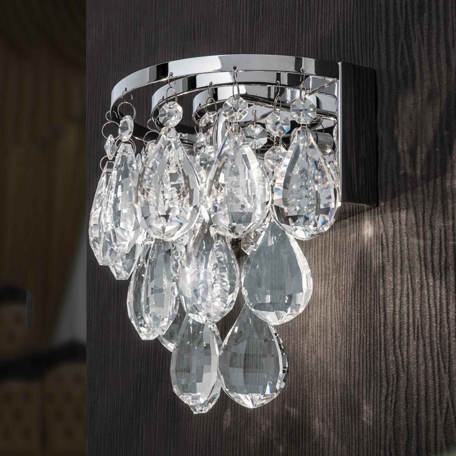 Kaunis seinävalaisin HELENE, lyijykristallit