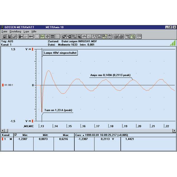 Metrahit METRAwin 10 Programvare