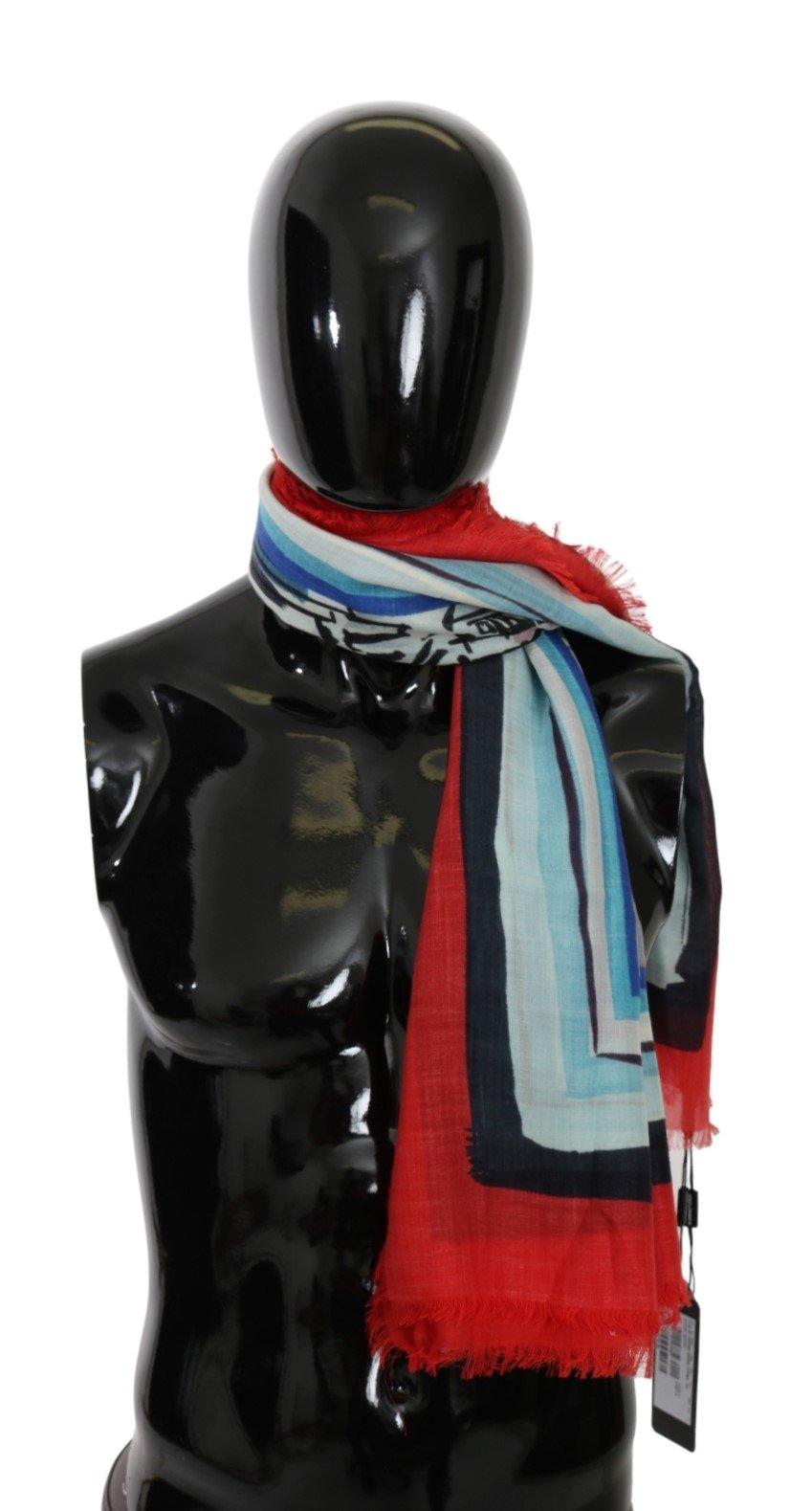 Dolce & Gabbana Men's Duomo di Milano Cashmere Scarf Multicolor MS5578