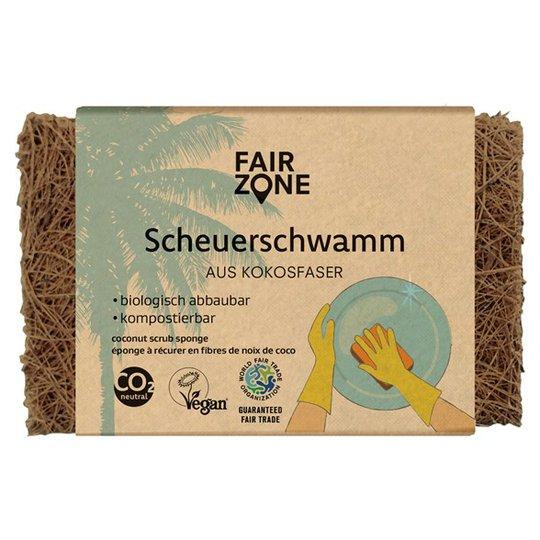Fair Zone Komposterbar Skrubbsvamp Kokosnötsfiber