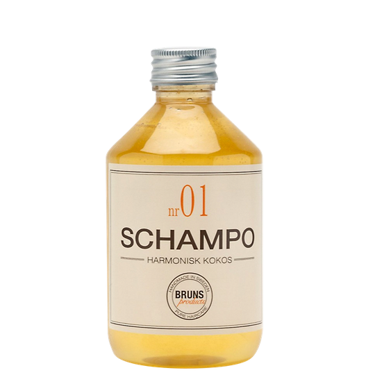 Bruns Schampo Harmonisk Kokos nr 01, 330 ml