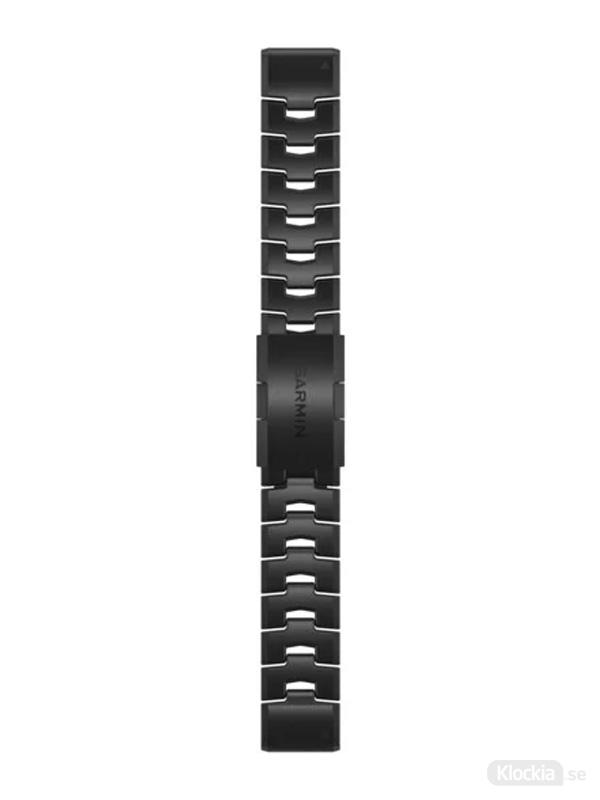 Garmin QuickFit 22mm - Klockarmband, Ventilerande Titanarmband i Kolgrå