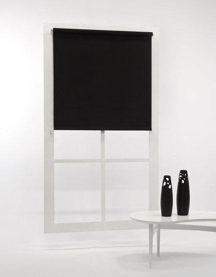 Hasta Blackout Rullgardin, Black 120x185