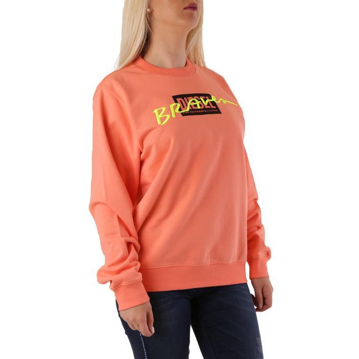 Diesel Women's Sweatshirt Orange 312566 - orange S