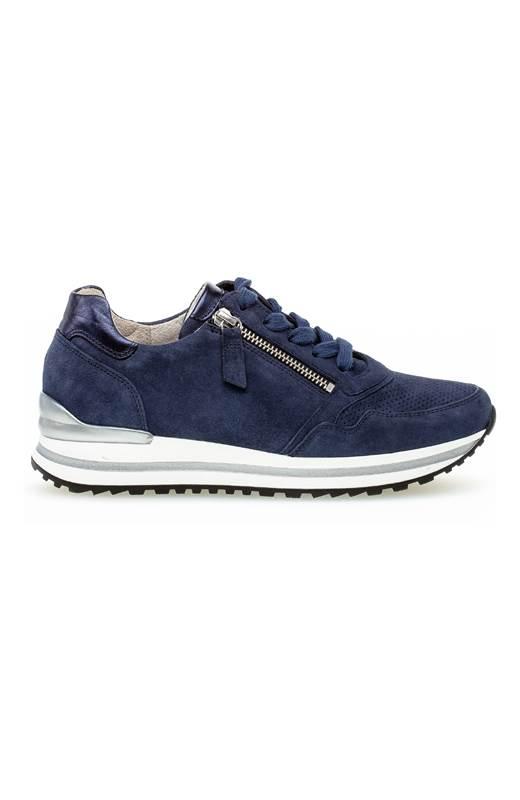 Gabor Sneakers i skinn Blå