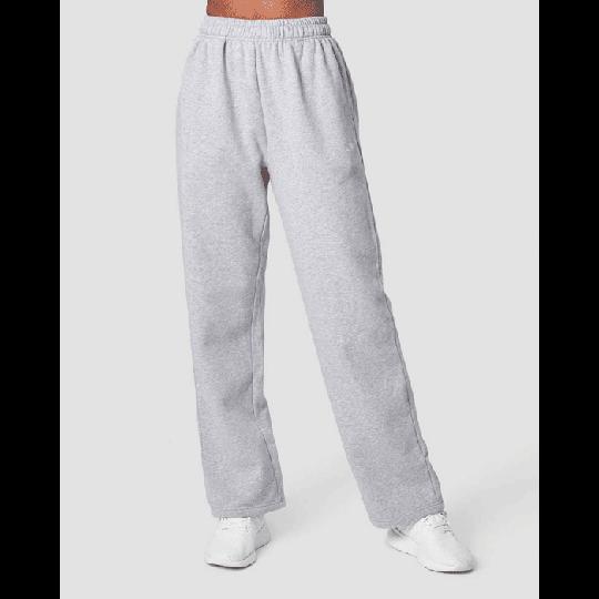 Essential Straight Sweatpant, Light Grey Melange