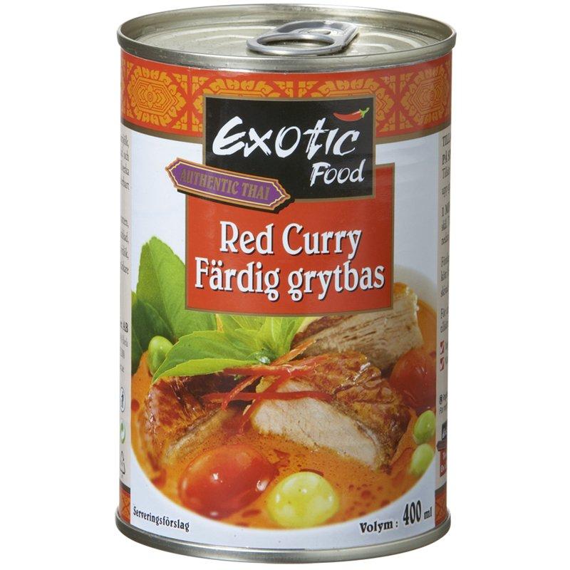 Ateriakastike Red Curry - 72% alennus