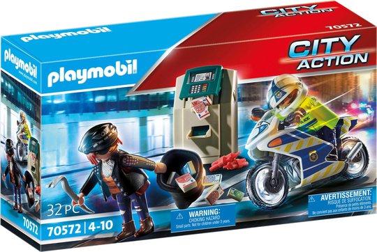 Playmobil 70572 Politimotorsykkel: Jakt På Pengerøver