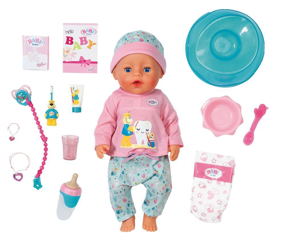 Baby Born - Bath Soft Touch Doll (827086)