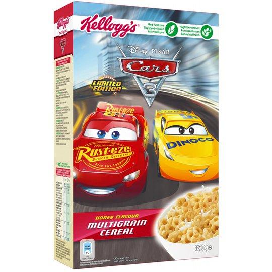 """Frukostflingor """"Cars, Limited Edition"""" 350g - 64% rabatt"""