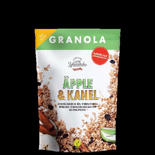 Granola Äpple & Kanel, 400 g
