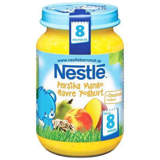 Barnmat Havre Yoghurt & Fruktpuré 195g - 36% rabatt