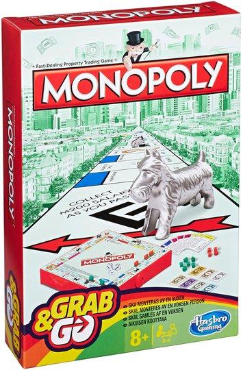 Hasbro Monopol Grab & Go